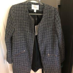 Carolina Belle NWT jacket coat blazer blue pattern